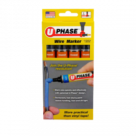 U Phase Marker - Orange (4 Pack)