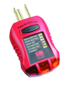 Ground Fault Receptacle Tester and Circuit Analyzer