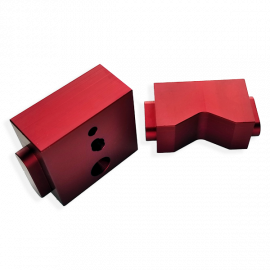 CWS-2 - Replacement Feed Guide (Red with 3 holes)