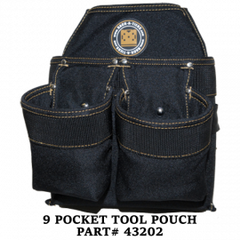 9 Pocket Tool Pouch